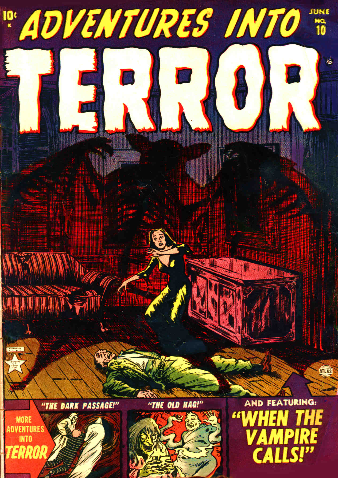 Adventures into Terror 10 Page 1