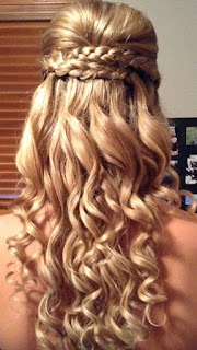 waterfall braids variation