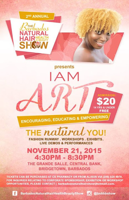 2nd Annual Barbados Natural Hair Health & Beauty Show