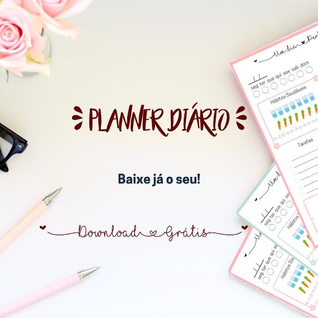 Variedades, Dicas, Bullet Journal, planner, daily planner, Dicas para Blogueiras, freebies, downloads grátis, planner diário, Web Desing,