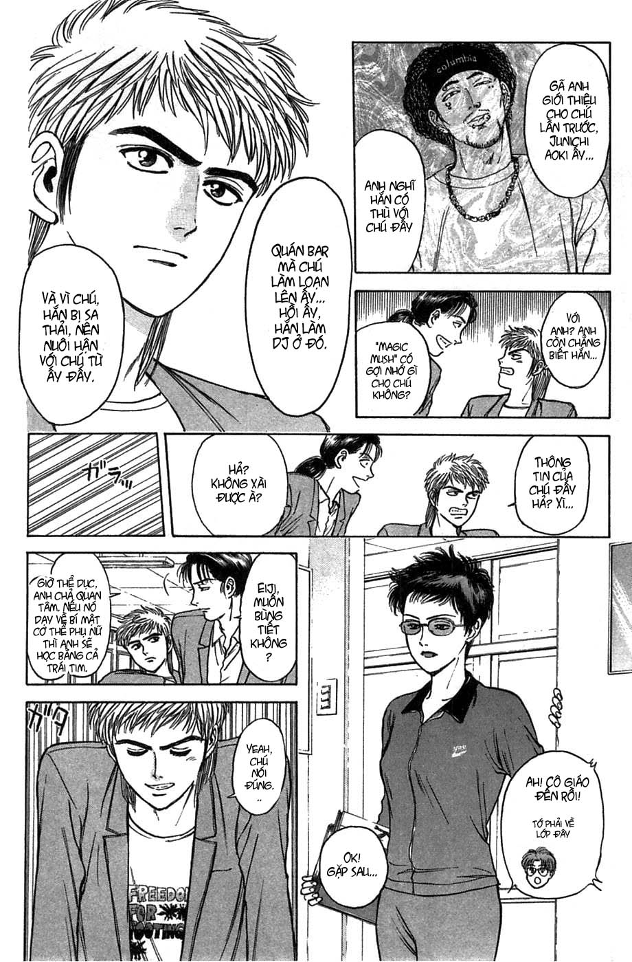 Psychometrer Eiji chapter 37 trang 19