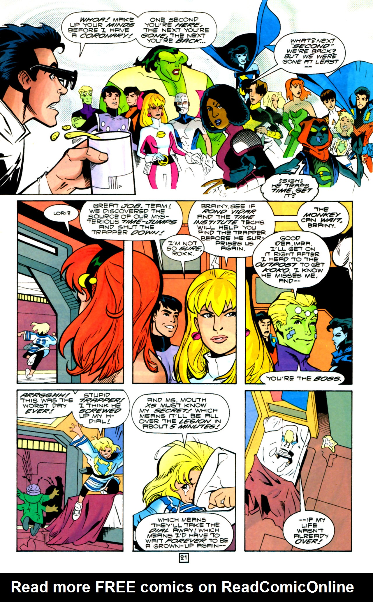 Legion of Super-Heroes (1989) 105 Page 19