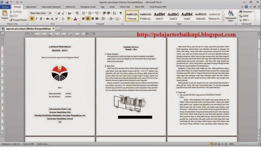 Word aplikasi ke convert untuk pdf file