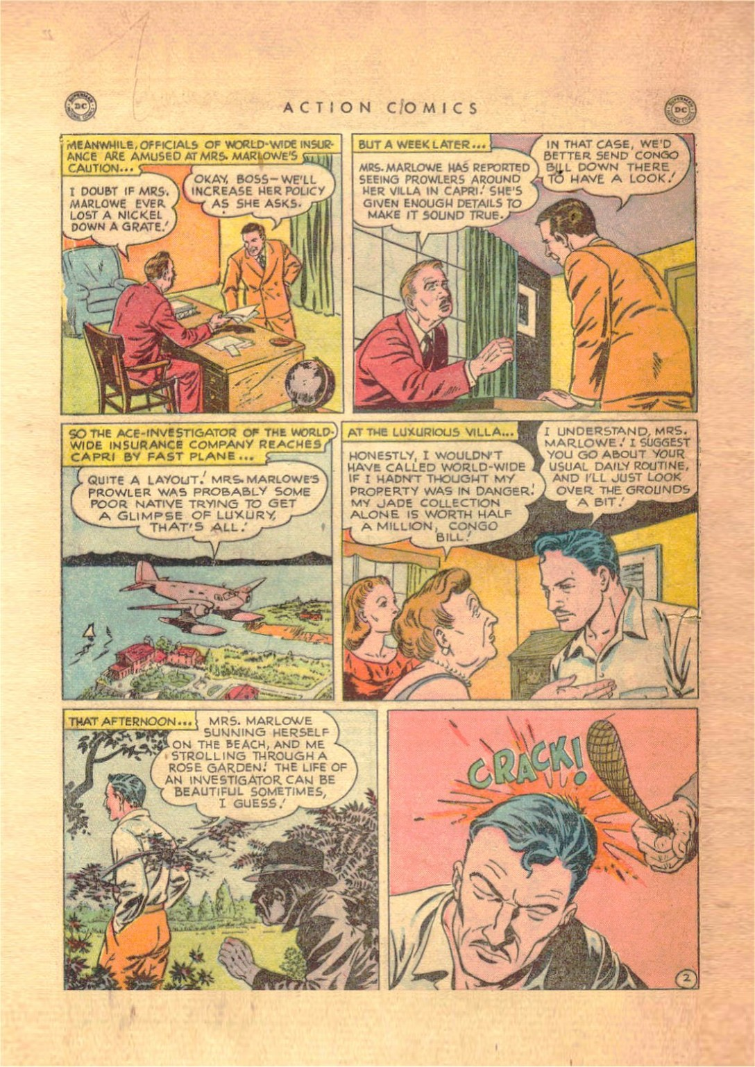 Read online Action Comics (1938) comic -  Issue #138 - 33