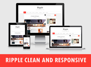 Ripple Clean Blogger Template