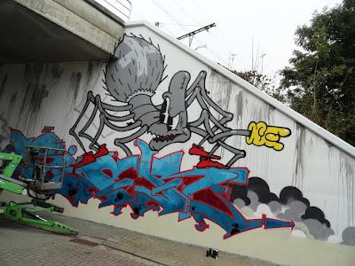 buizingen graffiti