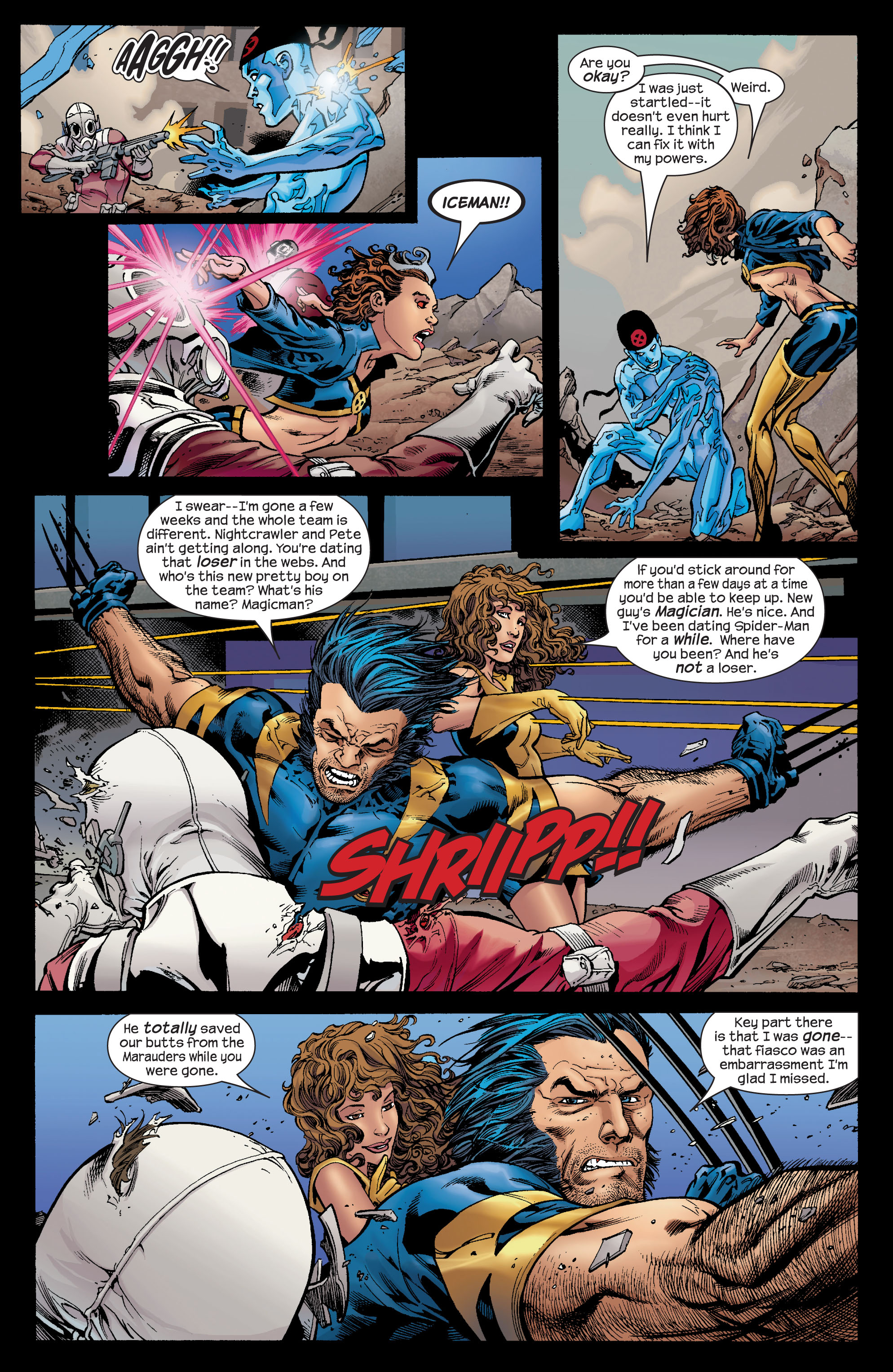 Read online Ultimate X-Men comic -  Issue #72 - 8