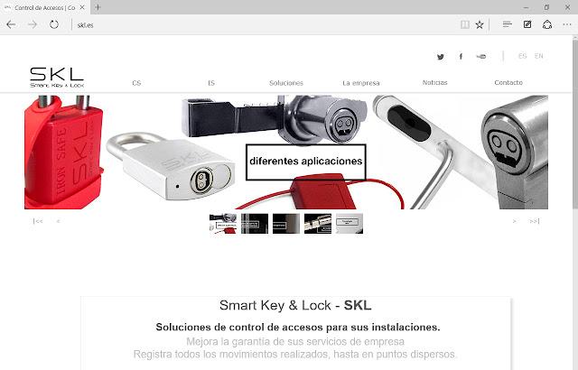 Sistemas de control de accesos personalizados. Llaves y cerraduras electrónicas.