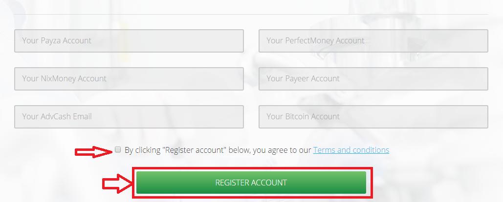 Регистрация в Gems Industry 3