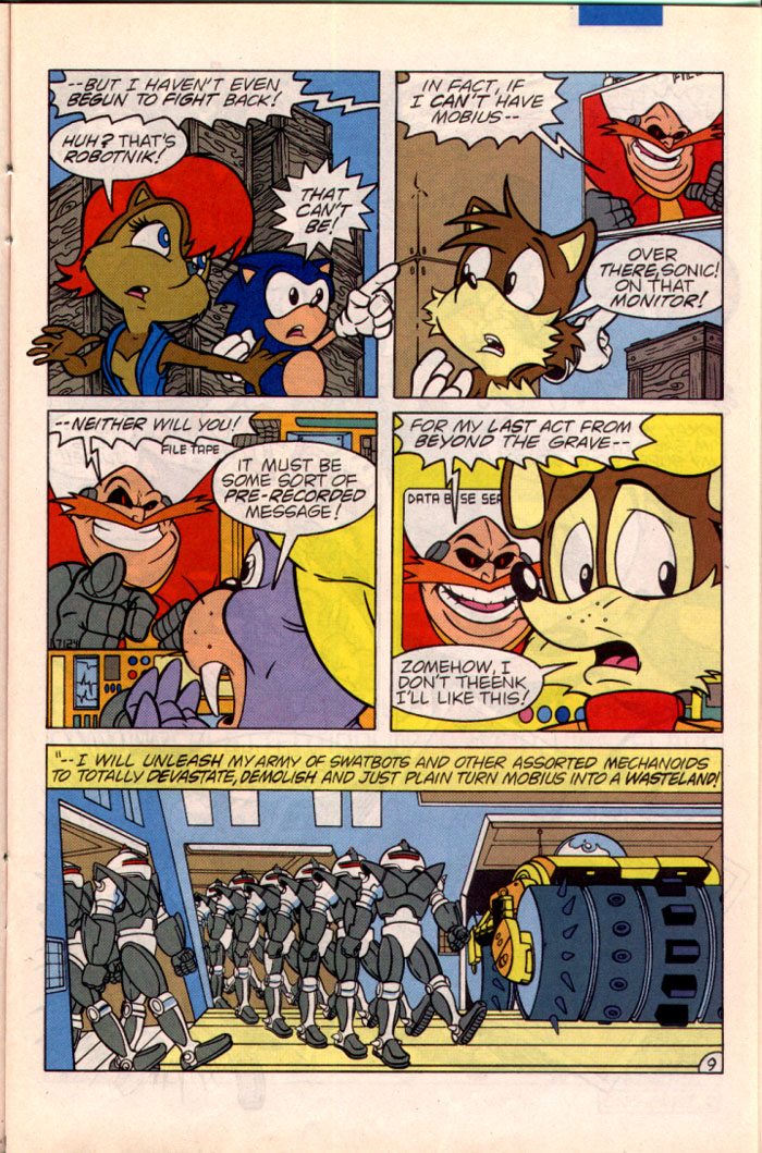 Read online Sonic The Hedgehog comic -  Issue #22 - 10