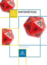 Libro Matemáticas Académicas 4º ESO Editex (LOMCE)