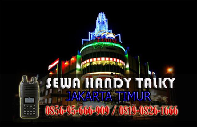 Pusat Sewa HT Area Jakarta Timur Rental Handy Talky Murah