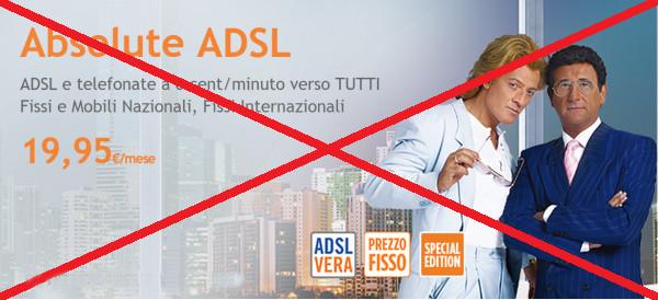 fine di Absolute ADSL
