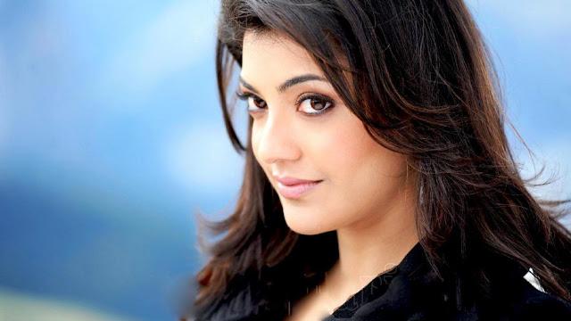 Kajal Agarwal Princess Looking Cute Hd Wallpaper