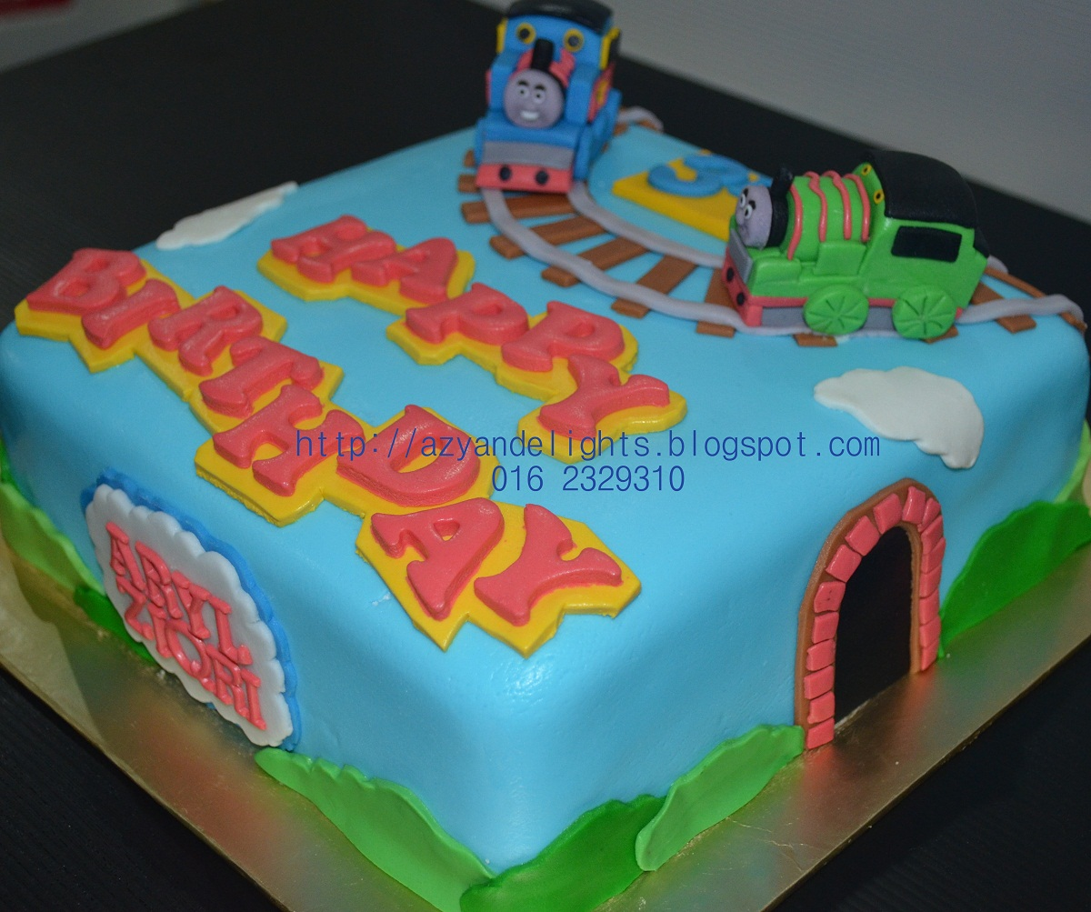 Azyandelights Thomas And Friends Cake