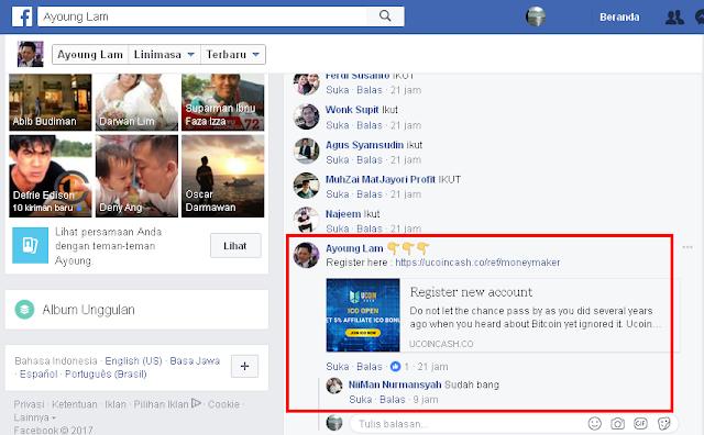 Ayoung Lam Master Trader Crypto Indonesia Promosi Ucoincash, Anda masih ragu?