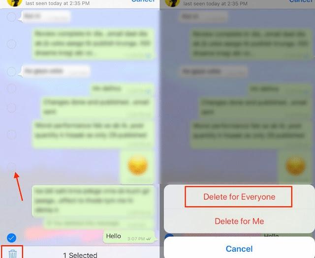 Begini Cara Menarik/ Menghapus Pesan WhatsApp untuk Semua Orang di Android dan iPhone 2