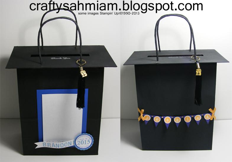 Graduation Cap Gift Bags