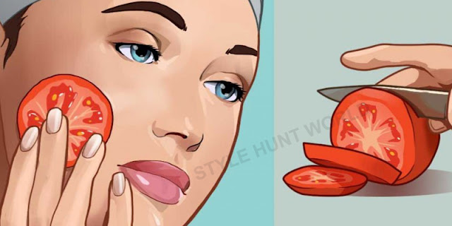 Apply Tomato In This Way On Your Face And See Results After 10 Seconds
