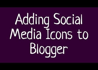 Add Social Media Icons To Your Blogger With Count Numbers