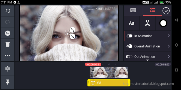 2019   How To Add Animations in KineMaster Pro Video Editor