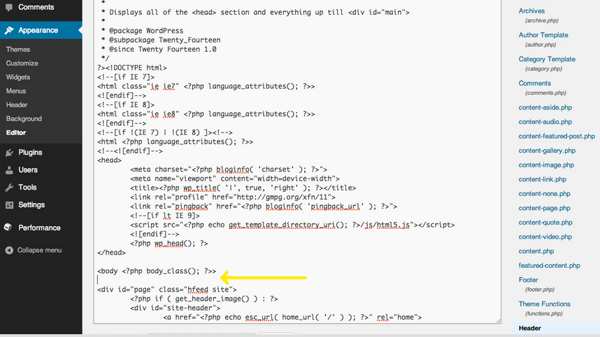 Add Google Analytics tracking code