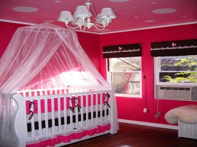 painting ideas for baby girl nursery