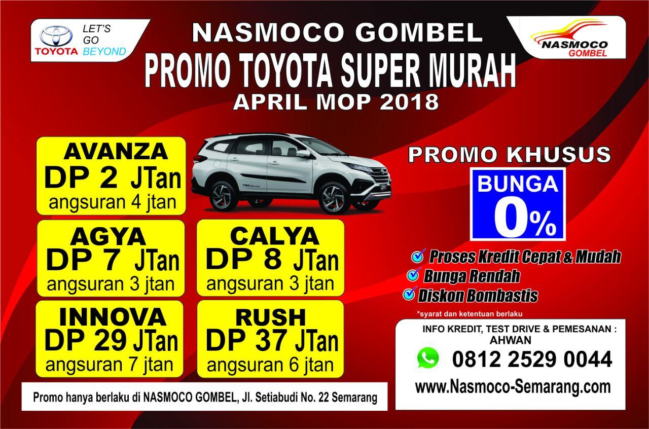 Kredit Mobil Toyota Semarang Bunga Kredit 0 Persen