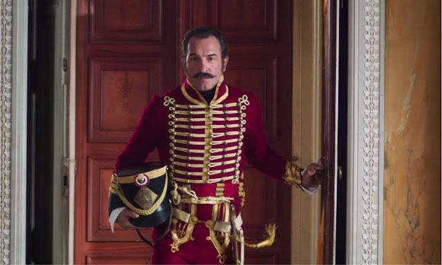 Jean Dujardin dans Le retour du héros de Laurent Tirard (2018)
