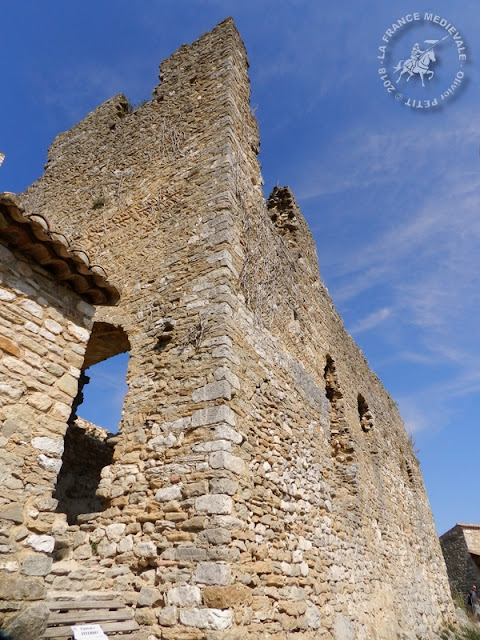 SAINT-MONTAN (07) - Village médiéval et château-fort