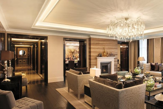 Luxury interior Four Seasons London Ten Trinity Square