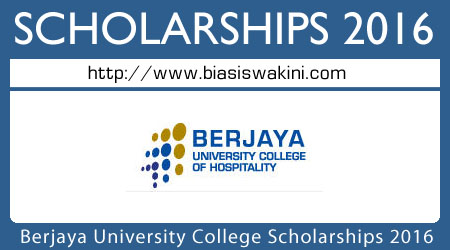 Berjaya University College Of Hospitality Scholarship 2016