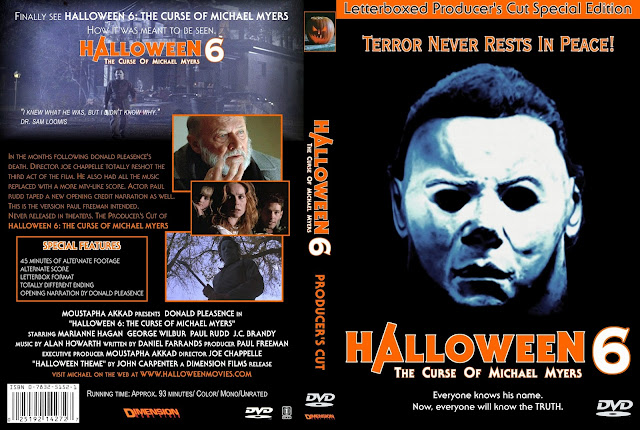 Halloween 6 Dvd   Goshowmeenergy