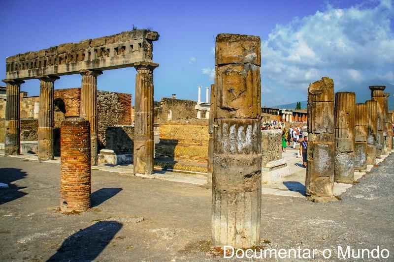 Fórum, Pompeia, Itália