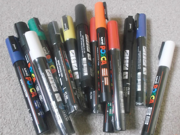 Uniball Paint Markers - Review