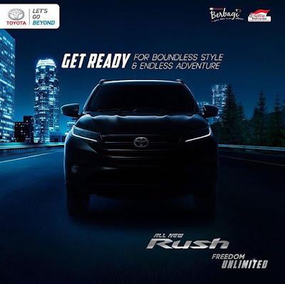 Spesifikasi Harga Kredit & Cicilan All New Toyota Rush Surabaya