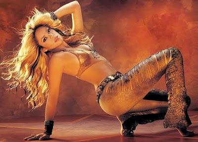 Foto de Shakira en sesión fotográfica