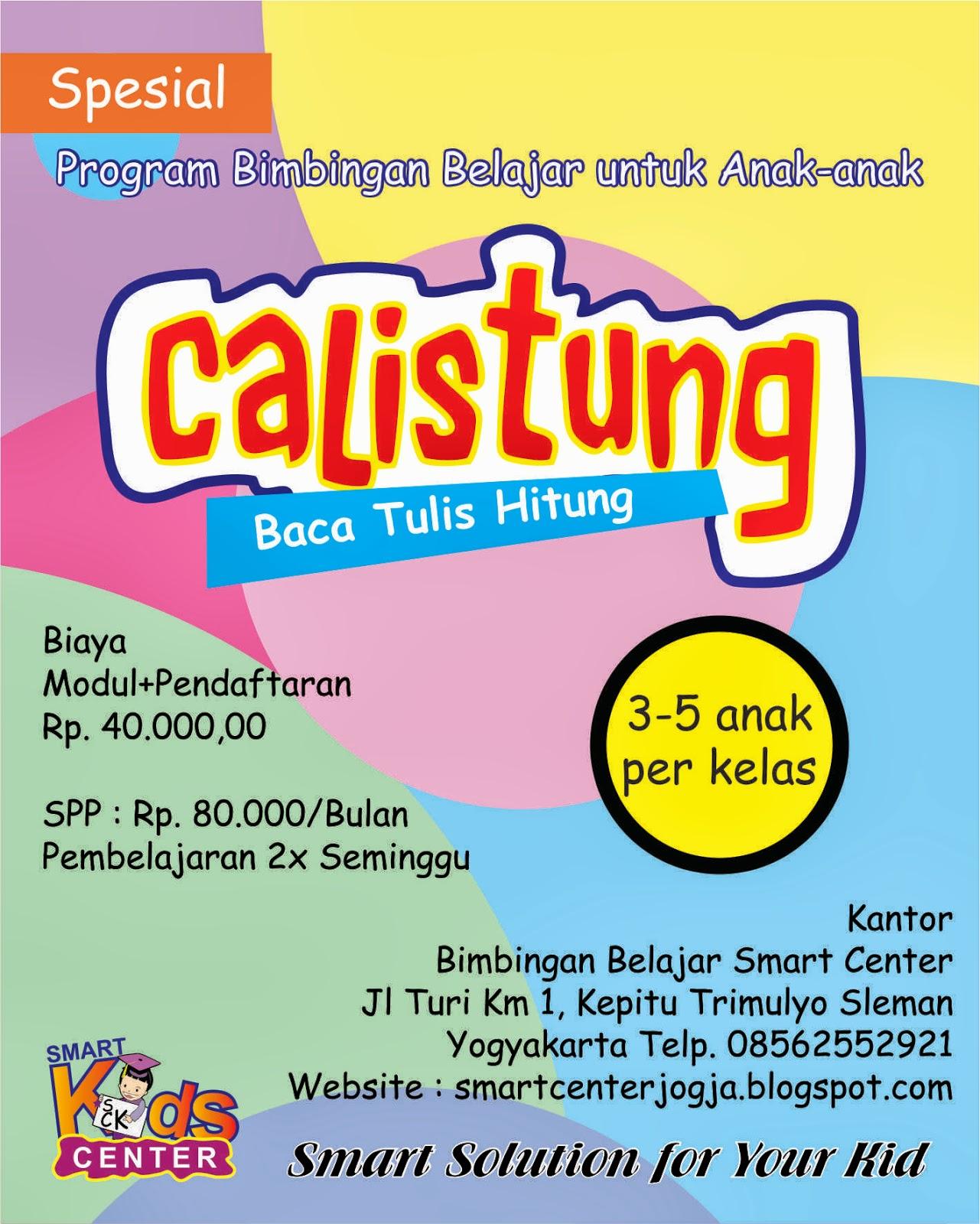 Smart Center Yogyakarta Les Calistung Smart Center
