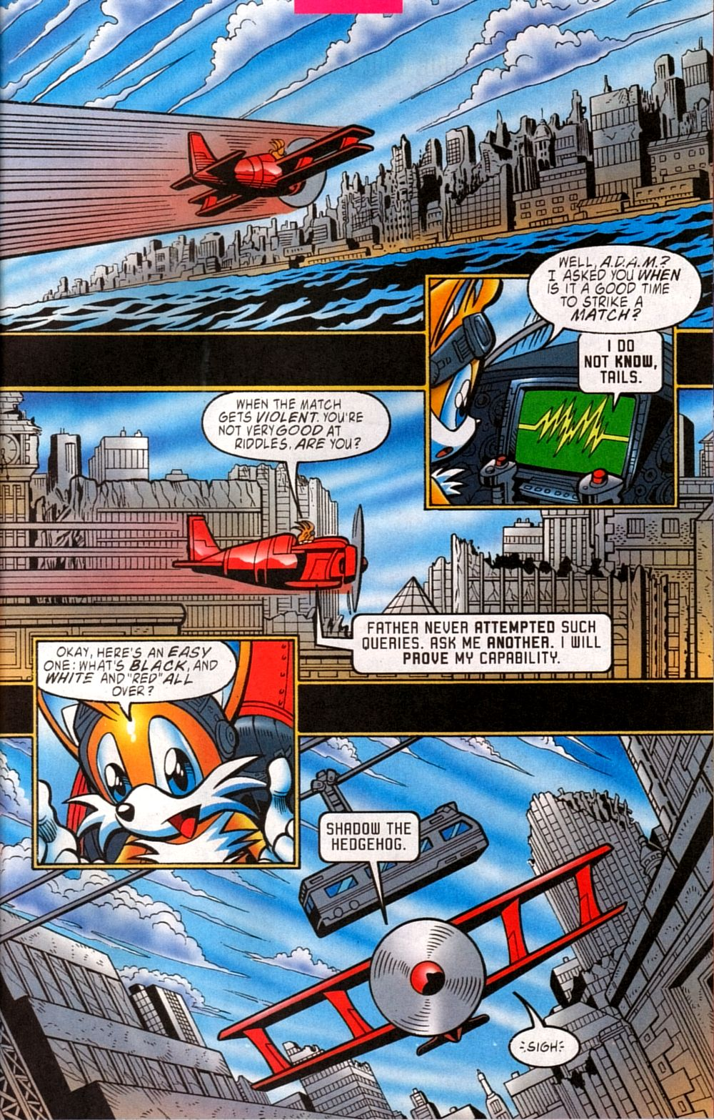 Read online Sonic The Hedgehog comic -  Issue #133 - 7
