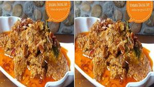 Resep Menciptakan Rendang Daging Sapi Ala Jeng Eva Mudah Dan Super Lezat