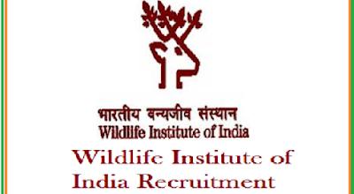 Wildlife Institute of India WII Recruitment 2017 at Uttarakhand, Dehradun Walk in Interview on 28-04-2017 at Uttarakhand, Dehradun Walk in Interview on 28-04-2017