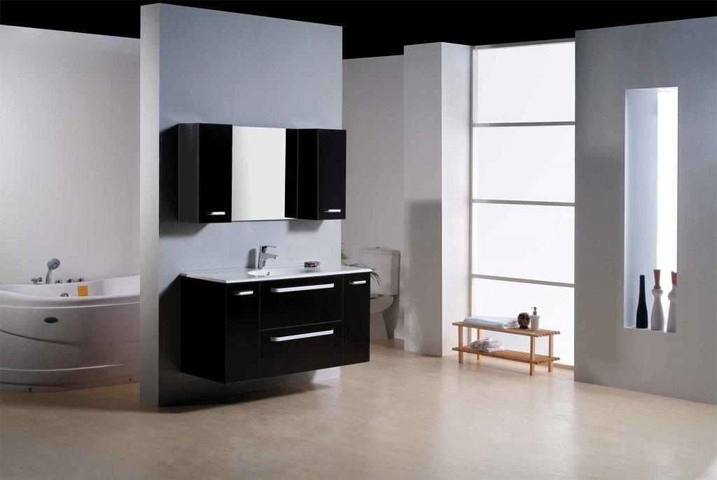 Modernas Casas De Banho A Preto E Branco Decora 231 227 O E Ideias