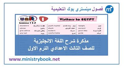 مذكرة شرح اللغة الانجليزية
