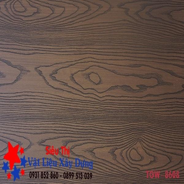 Tấm Ốp Tường PVC Vân Gỗ TGW-8608