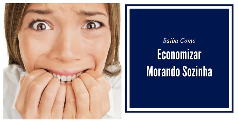 Economizar  Morando Sozinha