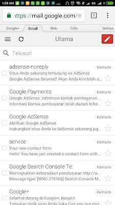 Daftar Google Adsense, Cuma 3 JAM Langsung Approve