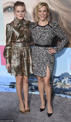 actress Reese Witherspoon and her daughter Ava Elizabeth Phillippe,