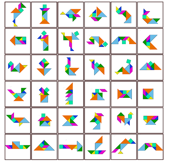 Study Maths: Tangram Puzzles