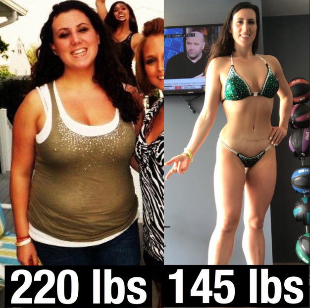 Wow you look great!! What did you do to lose the weight??