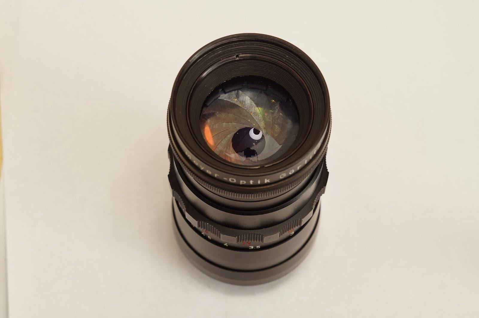 Meyer-Optik Görlitz Telemegor 5.5/180